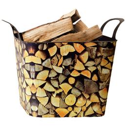 Holzkorb, Kunststoff, Braun