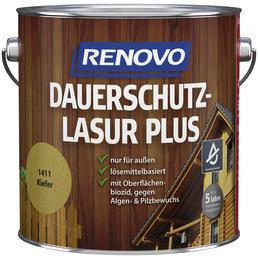 RENOVO Holzschutz-Lasur »PLUS«, für außen, 4 l, Kiefer