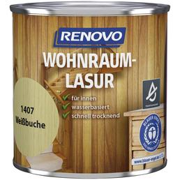 RENOVO Holzschutzmittel, Farbton weiß, für innen, 0,375 l