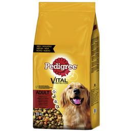 PEDIGREE Hundetrockenfutter »Vital Protection «, Inhalt: 15 kg, Rind/Gemüse