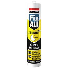 SOUDAL Hybrid Polymer, Fix ALL TURBO, Weiß, 290 ml