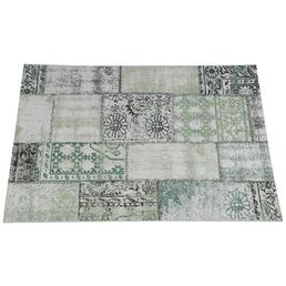 GARDEN IMPRESSIONS In- und Outdoor Teppich »Blocko«, BxL: 290 x 200 cm, grün/grau/weiß