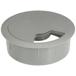 DÜWI Kabeldurchlassdose, Grau, Ø 57 x 25 mm