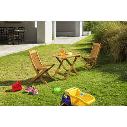 CASAYA Kindermöbel-Set »TOBATI«, 2 Sitzplätze, Eukalyptus