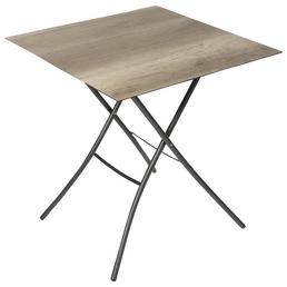 SUNGÖRL Klapptisch, BxHxT: 67 x 73 x 67 cm, Tischplatte: HPL-Platte