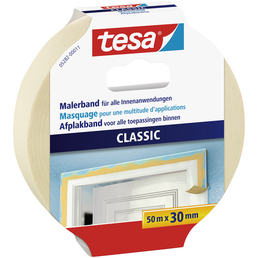 TESA Klebeband »PREMIUM CLASSIC«, Länge: 50 cm, beige