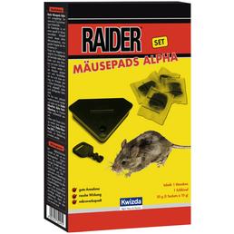KWIZDA Köder, Raider, Set Box und Köder, Mäusen