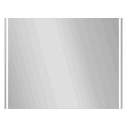 JOKEY Kosmetikspiegel »New Paradiso«, beleuchtet, BxH: 70 x 50 cm