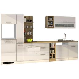 HELD MÖBEL Küchenzeile »Mailand«, ohne E-Geräte, Gesamtbreite: 340cm