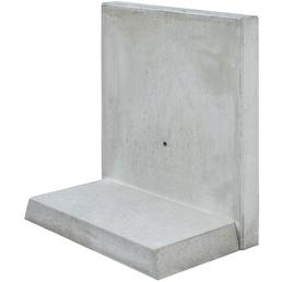MR. GARDENER L-Stein, BxHxL: 82 x 155 x 100 cm, Beton