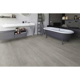 EGGER Laminat »Aqua+«, 8 Stk./1,99 m², 8 mm,  Toscolano Landhausdiele Eiche grau