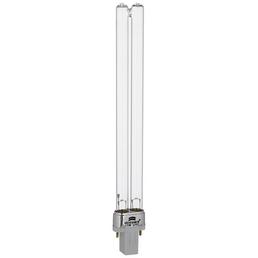 HEISSNER Lampe »«, 11W W, kunststoff|glas, weiss|silberfarben|transparent