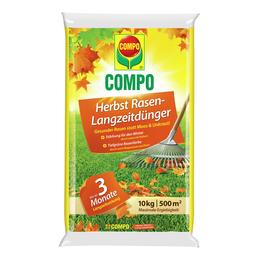 COMPO Langzeitdünger, 10 kg, für 500 m², schützt vor Mangelerscheinungen