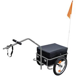 FISCHER FAHRRAEDER Lasten-Fahrradanhänger, Zuladung: 30 kg