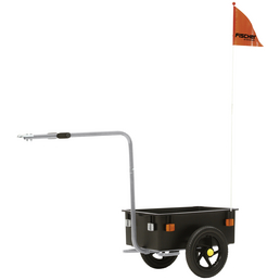 FISCHER FAHRRAEDER Lasten-Fahrradanhänger, Zuladung: 31 kg