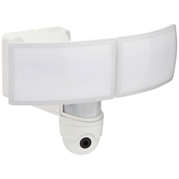 LUTEC LED-Kameraleuchte LIBRA weiß