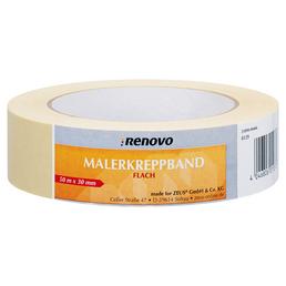 RENOVO Malerkreppband, 50 m x 30 mm, Beige