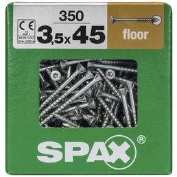 SPAX Massivholzfußbödenschraube, T-STAR plus, 350 Stk., 3,5 x 45 mm