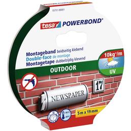 TESA Montageband, 5 m x 19 mm