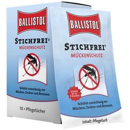 BALLISTOL Mückenschutzmittel, Ballistol Stichfrei®, 10 Stück