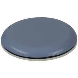 HETTICH Multigleiter, rund, Selbstklebend, blaugrau, Ø 40 x 5,5 mm