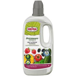 SUBSTRAL NATUREN® Naturen Performance Organics Obst+Gemüse-Nahrung 1 l