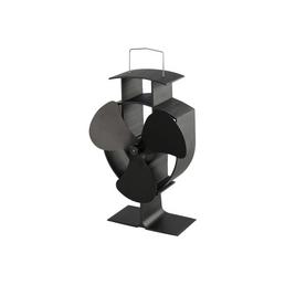 GO/ON! Ofenventilator, BxHxT: 15 x 22 x 9 cm, 3 Flügel, Metall