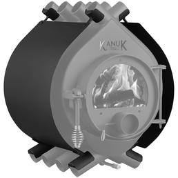 KANUK® Ofenverkleidung für Warmluftofen Kanuk Original 22,1 kW, BxL: 77 x 77 cm, Stahl