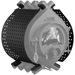 KANUK® Ofenverkleidung für Warmluftofen Kanuk Original 6,7 KW & 9,5 KW, BxL: 43 x 43 cm, Stahl