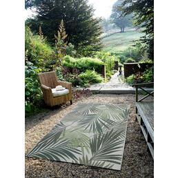 GARDEN IMPRESSIONS Outdoor-Teppich »Naturalis«, BxL: 290 x 200 cm, palm leaf/grün/grau/braun
