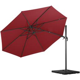 Pendelschirm »Paros«, ØxH: 350 x 265 cm, Sonnenschutzfaktor: 80+