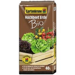 GARTENKRONE Pflanzenerde »Gartenkrone«, für Salat- und Gemüsepflanzen, Kräuter und Gewürze