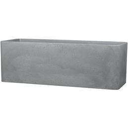 Pflanzgefäß »QUADRO BOX«, BxHxT: 80 x 29 x 29 cm, grau