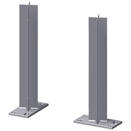 TraumGarten Pfostenträger, Stahl, BxL: 160 x 410 mm