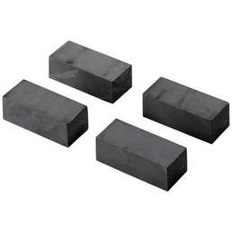 HETTICH Pinnwandmagnet, schwarz, 36x16x11mm, 4 St.