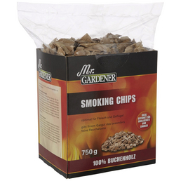 MR. GARDENER Räucherspäne, Buchenholz, Späne bzw. Chips