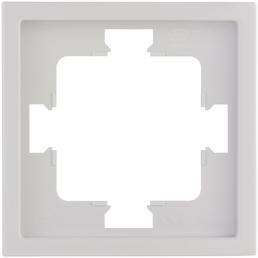 REV Rahmen 1-fach, Futura, Weiß, 1,2 cm