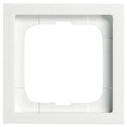 BUSCH-JAEGER Rahmen, future® linear, IP20, 1-fach, Studioweiß, Thermoplast