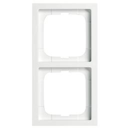 BUSCH-JAEGER Rahmen, future® linear, IP20, 2-fach, Studioweiß, Thermoplast