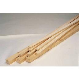 KLENK HOLZ Rahmenholz, Fichte / Tanne, BxH: 5,8 x 7,8 cm, rau