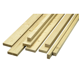 KLENK HOLZ Rahmenholz, Fichte / Tanne, BxH: 9,7 x 2,4 cm, glatt