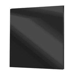 Vitalheizung rahmenloses Infrarot-Glasheizpaneel, 0,3 kW, Schwarz, 3,9 cm