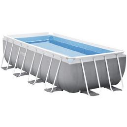 INTEX Rechteckpool »Pool Set Prism Quadra«, rechteckig, BxHxL: 200 x 100 x 400 cm