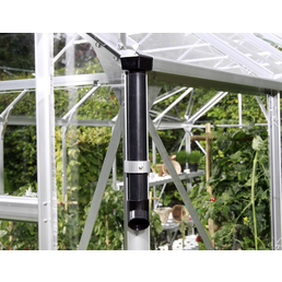 VITAVIA Regenfallrohr-Set; PVC; schwarz