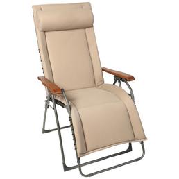 SUNGÖRL Relaxliege »Oasi Daydreamer XL«, Stahl/Textilen, Kippfunktion/Klappfunktion