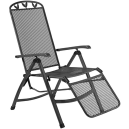 GREEMOTION Relaxsessel »Toulouse«, BxHxT: 57 x 109 x 67 cm, Metall