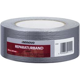 RENOVO Reparaturklebeband, Länge: 50 cm, silberfarben