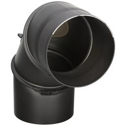FIREFIX® Rohrbogen, ØxL: 15 x 30 cm, Stärke: 2 mm, Stahl