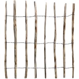 MR. GARDENER Rollzaun »Haselnuss«, HxL: 90 x 500 cm, natur