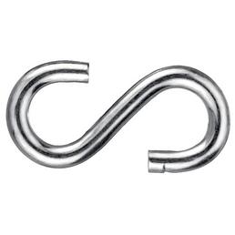 GECCO S-Haken, Stahl, 4 Stück